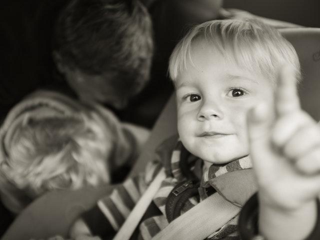 Glada barn - även i bilen!
