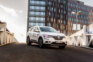 En av de nyare Renault-bilarna